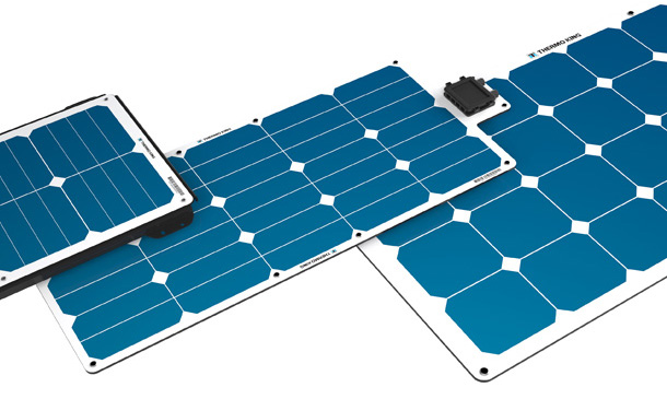 Photo of ThermoLite solar panels.