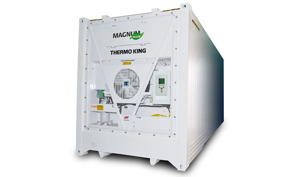 Photo of a Thermo King marine refrigeration unit.