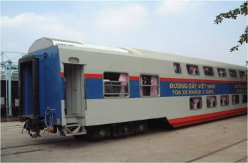 Thermo King Rail HVAC LRV applied in Vietnam, 2009